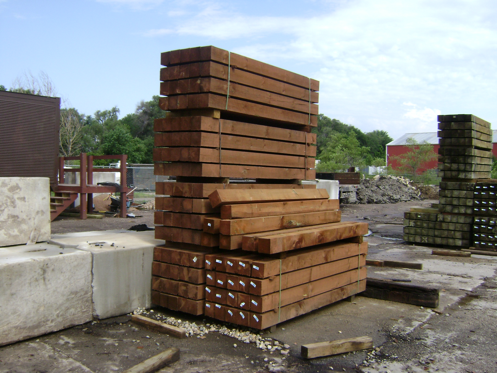 Railroad Ties Landscaping Home Decor