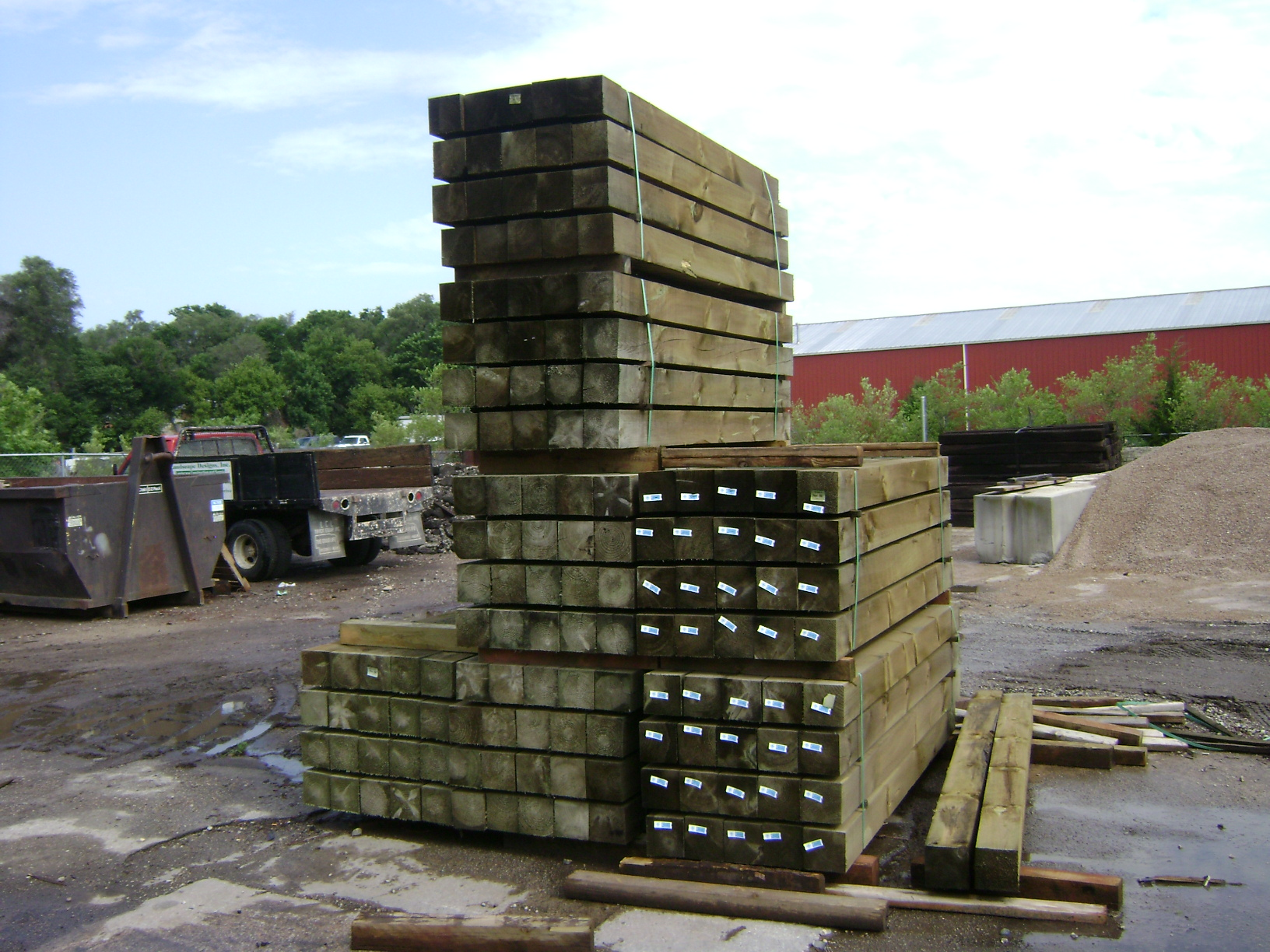Landscape Designs Inc Timber Railroad Tie Products